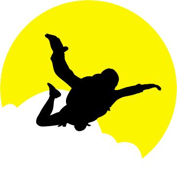 Fallschirmsport in Passau